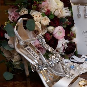 Badgley mishka wedding shoes